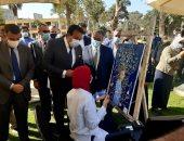 وزير التعليم العالى يشهد انطلاق العام الجامعى الجديد بجامعة عين شمس.. صور