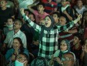 شاهد احتفالات الأهلوية بعد الفوز على الوداد المغربي بثنائية نظيفة