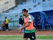 محمد سامى يقترب من العودة لتشكيل غزل المحلة بعد التعافى من إصابة ساسى