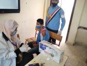 بدء حملات التطعيم لطلاب الصف الأول الثانوى ضد مرض السحائى بشمال سيناء.. صور