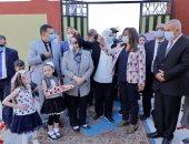 محافظ دمياط تفتتح 4 مشروعات بالتعليم والصحة بقيمة 30.900 مليون جنيه.. صور