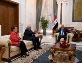 الرئيس العراقى يؤكد ضرورة توفير الأمن للمواطنين وضمان نزاهة الانتخابات