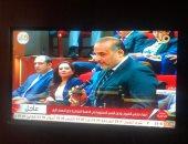 محمد شبانة يؤدى اليمين الدستورية فى الجلسة الافتتاحية لمجلس الشيوخ