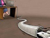 كاريكاتير اليوم.. تسريبات هيلاري كلينتون تملء الأرض