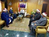 محافظ الوادى الجديد يشيد بدور رجال الأزهر ويرفض التقليل من المؤسسات الوطنية