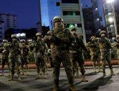 صور.. الجيش البوليفى ينتشر فى شوارع العاصمة لتأمين الانتخابات الرئاسية