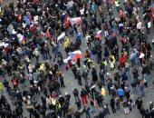 الشرطة فى التشيك تعتقل 16شخصا فى تظاهرات ضد قيود كورونا..صور
