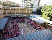 مدارس القاهرة تطبق قرار إلغاء طابور الصباح وتشدد على إجراءات مواجهة كورونا