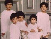 ولى عهد دبى وأشقاؤه في صورة نادرة من الطفولة