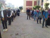انتظام الدراسة بمدارس كفر الشيخ وتوفير 30 أتوبيسا لنقل طلاب الجامعة