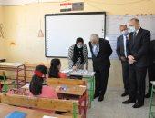 وزير التعليم يتفقد مدارس القاهرة ويوجه بتطبيق الإجراءات الاحترازية.. صور وفيديو