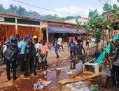 أعمال عنف فى حملات الانتخابات الرئاسية بكوت ديفوار.. فيديو وصور