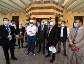 وزير الإسكان ومحافظ جنوب سيناء يتفقدان مشروع معالجة مخاطر انهيار  هضبة أم السيد