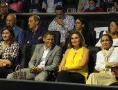 يسرا تدعم بطولة مصر للإسكواش بحضور المباراة النهائية