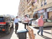 محافظ الغربية يوجه برفع الإشغالات والقمامة وتحرير محاضر للمخالفين بطنطا