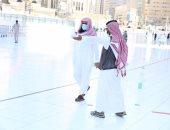 رئاسة المسجد النبوى تكثف جهودها فى التعقيم والتطهير
