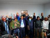 لويس آرسي يستقبل التهاني بالفوز برئاسة بوليفيا رغم عدم صدور نتائج رسمية