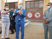 وكيلا الصحة والتعليم بسوهاج يتابعان الإجراءات الاحترازية بالمدارس.. صور