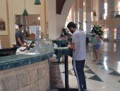 فنادق وقرى مرسى علم تطبق الإجراءات الاحترازية من كورونا