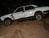 مصرع شخص وإصابة 2 آخرين فى حادث تصادم بطريق بنها القناطر أمام قرية بلتان