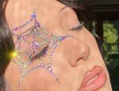 خيوط العنكبوت بديل الآيلاينر فى مكياج هالوين 2020.. اعرفى إزاى تنفذيها بنفسك