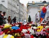 نصب تذكارى مؤقت فى موسكو لتأبين ضحايا الحرب بين أرمنيا واذربيجان ..ألبوم صور