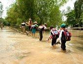 الأمم المتحدة: الفيضانات تغمر 130 ألف منزل خلال 15 يوما فى فيتنام.. صور