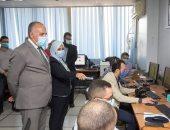 وزير الرى يتفقد غرفة إدارة جلسات أسبوع القاهرة للمياه