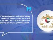النيابة العامة الإماراتية: مخالفة مزاولة نشاط الدروس الخصوصية 30 ألف درهم