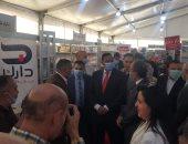 رئيس الهيئة العامة للكتاب بالمنصورة يشيد بنظام معرض منصورة الأول للكتاب