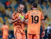 إصابة كيلينى فى شوط سلبى لـ يوفنتوس ودينامو كييف بدوري أبطال أوروبا