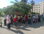 جامعة القاهرة تواصل تسكين الطلاب المغتربين بالمدن الجامعية على مدار أسبوعين.. صور