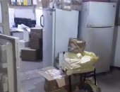 شاهد لحظة ضبط مخزن أدوية بدون ترخيص بالإسكندرية والتحفظ على 12 ألف عبوة