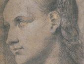 """شاهد لوحة """"رأس امرأة شابة"""".. إلى أى عصر تعود تسريحة الشعر؟"""