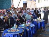 رئيس جامعة سوهاج يشهد حفل منتخبى الكورال والموسيقي ويكرم الفائزين بالمسابقة الثقافية
