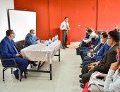 رئيس جامعة بنى سويف يلتقى بهيئة تدريس كلية السياسة والاقتصاد.. اعرف التفاصيل
