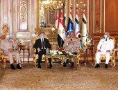 وزير الداخلية وقيادات الشرطة يقدمون التهنئة للقوات المسلحة بذكرى أكتوبر