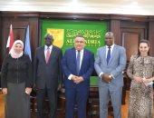 مجلس جامعة الإسكندرية يبحث تشغيل فرع الجامعة بجنوب السودان