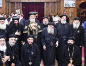 البابا تواضروس يشيد بثقافة العطاء لدى المصريين فى مشروع قناة السويس الجديدة