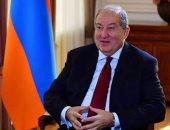 رئيس أرمينيا يبحث الصراع فى ناجورنو قرة باغ مع الاتحاد الأوروبى وحلف الأطلسى