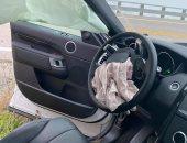 محمد كريم ينجو من الموت بأعجوبة بعد حادث سير في كاليفورنيا