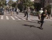 انطلاق أكبر سباق لألواح التزلج في نيويورك بمشاركة قليلة بسبب كورونا.. فيديو