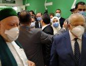 الخشت وعلى جمعة يفتتحان 3 وحدات طبية بمستشفيات أبو الريش والمنيرة واليابانى