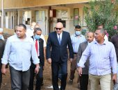 محافظ قنا يتابع تجهيز مقرات اللجان الانتخابية استعدادا لانتخابات مجلس النواب