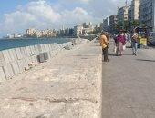 تحسن حالة الطقس وأجواء مشمسة بالإسكندرية .. صور
