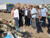 محافـظ المنوفية يتابع إنتظام العمل بمصنع تدوير القمامة.. ويؤكد :رفع 2000 طن