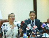 وزيرة البيئة: منعنا 27 ألف طن ملوثات وتخلصنا من 7800 طن مخلفات إلكترونية