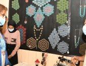 وزيرة التخطيط تزور المعرض الدائم لمنتجات الحرف التراثية بسوهاج