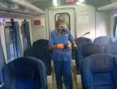 السكة الحديد تناشد الركاب ارتداء الكمامات للوقاية من فيروس كورونا