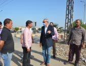 محافظ القليوبية يتفقد مدينتي بنها وشبرا الخيمة لمتابعة النظافة والإشغالات